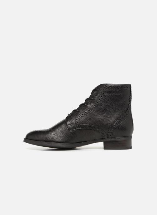 Bottines et boots Clarks Netley Freya Noir vue face