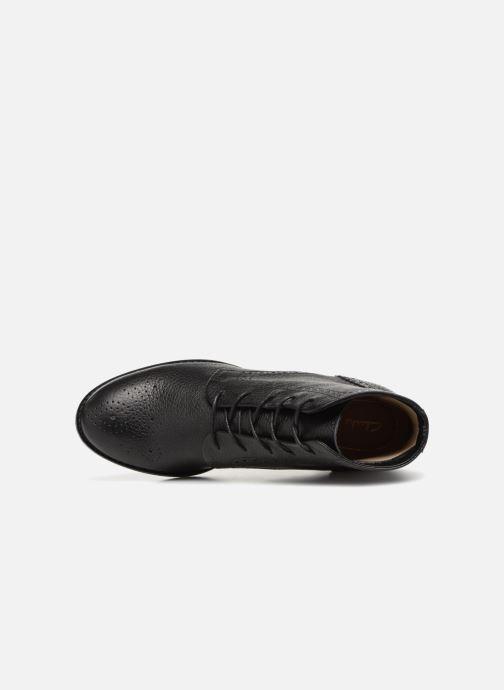 Bottines et boots Clarks Netley Freya Noir vue gauche
