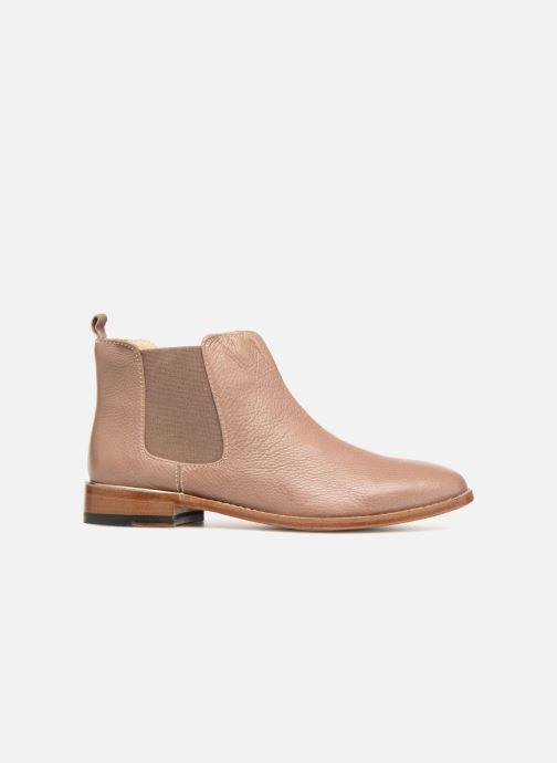 Bottines et boots Clarks Ellis Amber Beige vue derrière