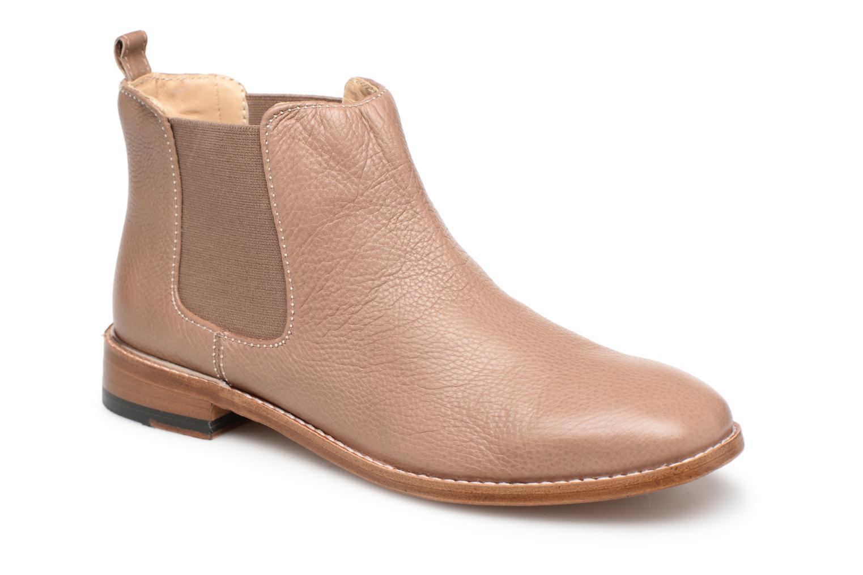 Clarks Ellis boots Amber (Beige) - Ankle boots Ellis chez (340448) 2ba535