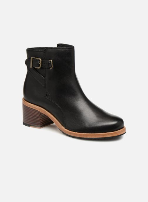 Boots en enkellaarsjes Clarks Clarkdale Jax Zwart detail