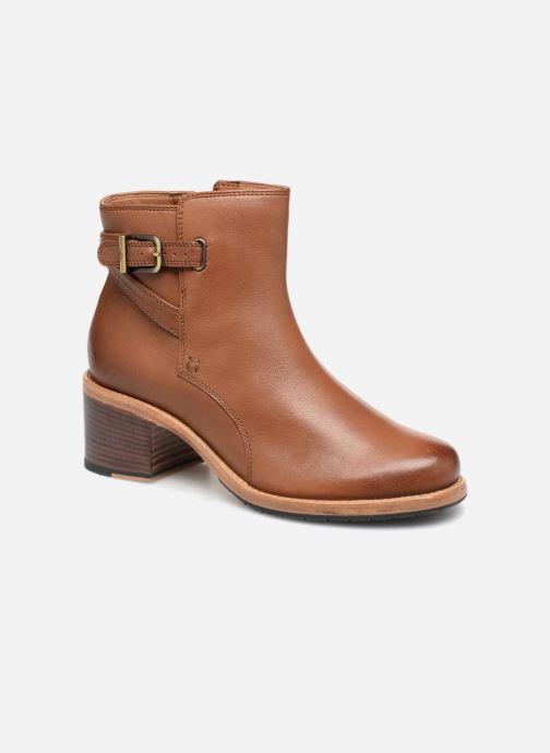 Boots en enkellaarsjes Clarks Clarkdale Jax Bruin detail