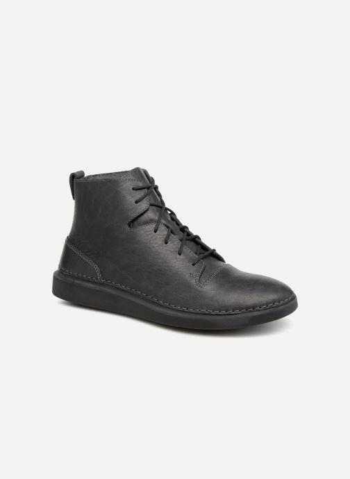 Bottines et boots Clarks Hale Rise. Gris vue détail/paire