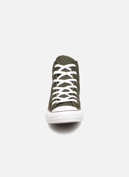 Baskets Converse Chuck Taylor Hi W Vert vue portées chaussures