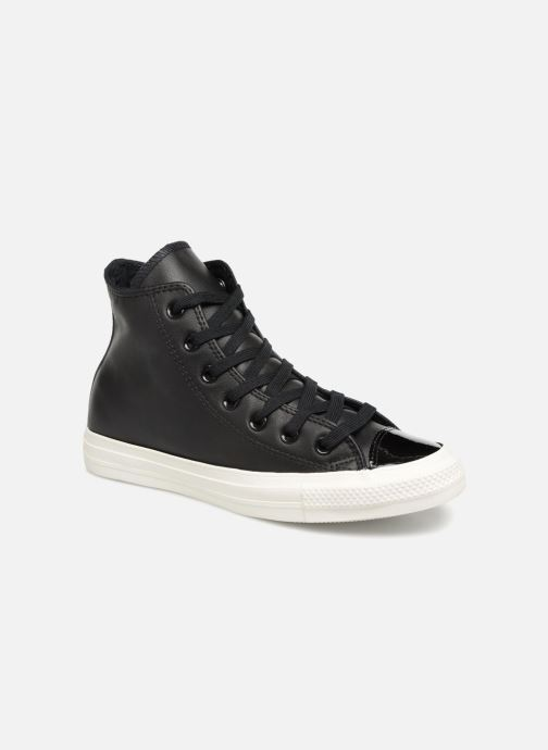 Trainers Converse Chuck Taylor Hi W Black detailed view/ Pair view