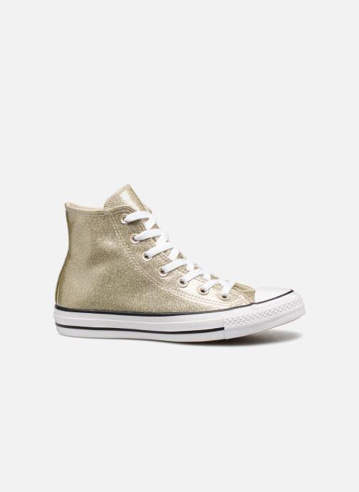 Sneakers Converse Chuck Taylor Hi W Oro e bronzo immagine posteriore
