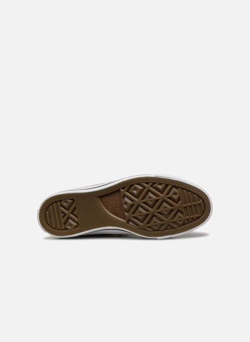 Sneakers Converse Chuck Taylor Hi W Oro e bronzo immagine dall'alto