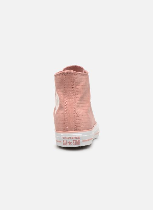 Sneakers Converse Chuck Taylor Hi W Roze rechts