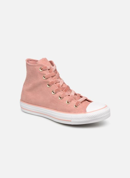 Sneakers Converse Chuck Taylor Hi W Roze detail