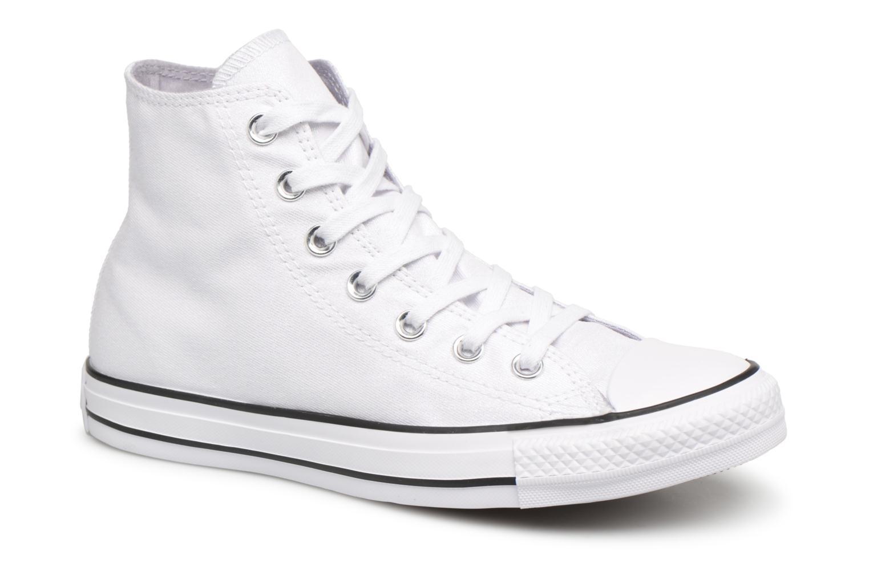 white Converse Taylor Chuck White W black Hi A11XrwWq