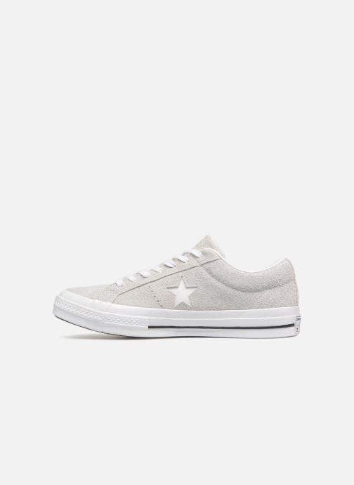 Sneakers Converse One Star Ox Ash Grijs voorkant