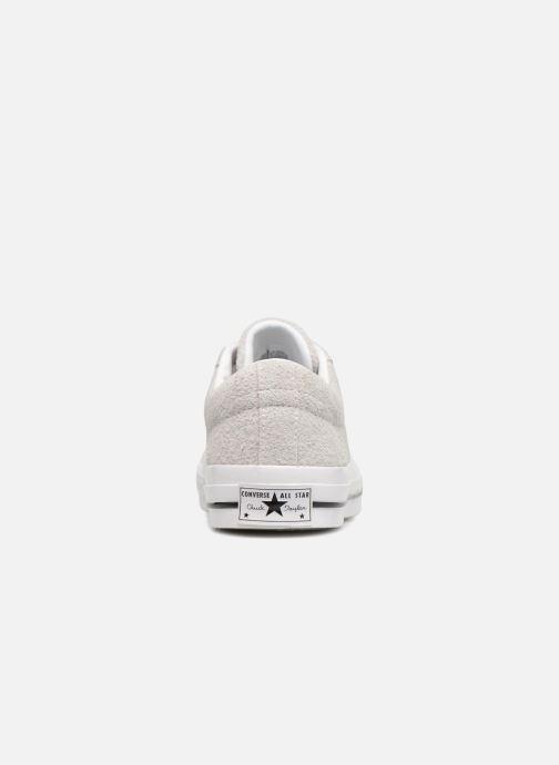 Sneakers Converse One Star Ox Ash Grijs rechts