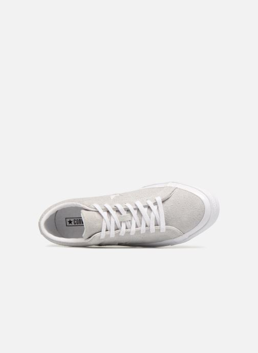 Sneakers Converse One Star Ox Ash Grijs links