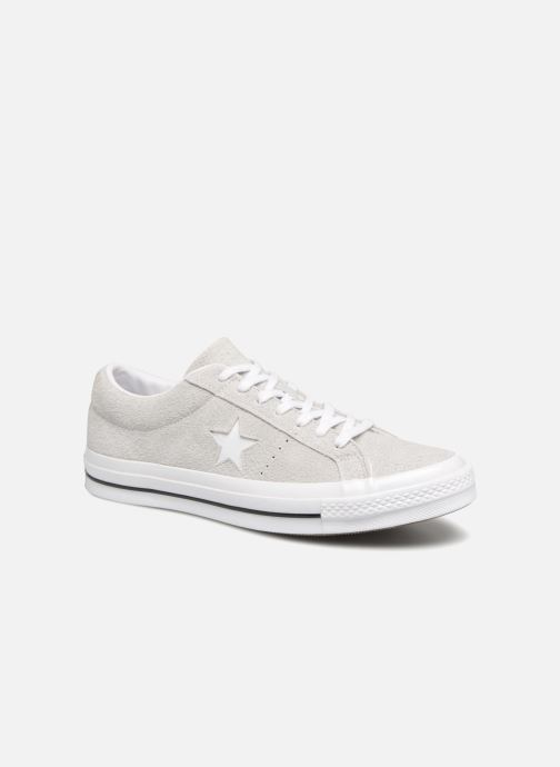 Sneakers Converse One Star Ox Ash Grijs detail