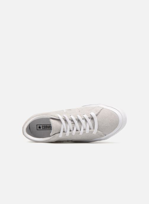 Trainers Converse One Star Ox Ash W Grey view from the left