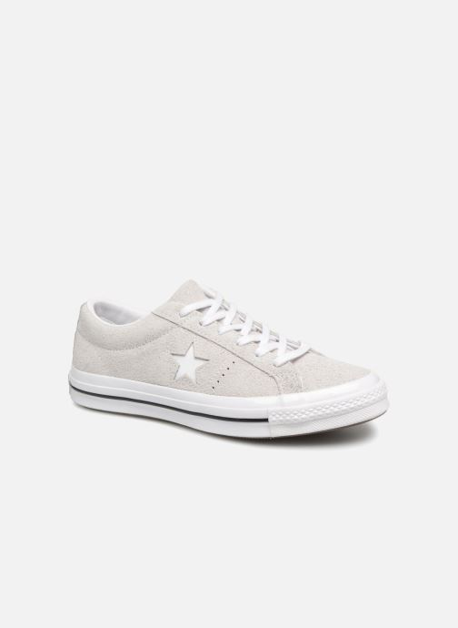 Trainers Converse One Star Ox Ash W Grey detailed view/ Pair view