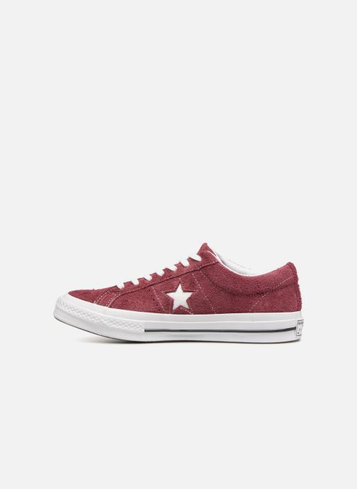 Baskets Converse One Star Ox M Bordeaux vue face