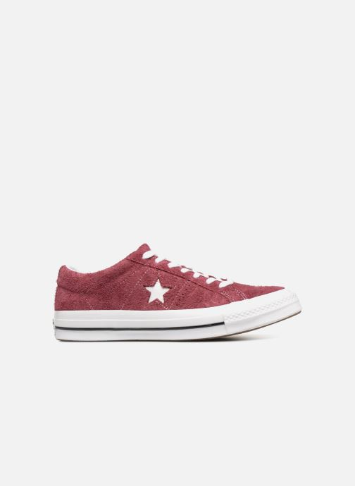 Baskets Converse One Star Ox M Bordeaux vue derrière