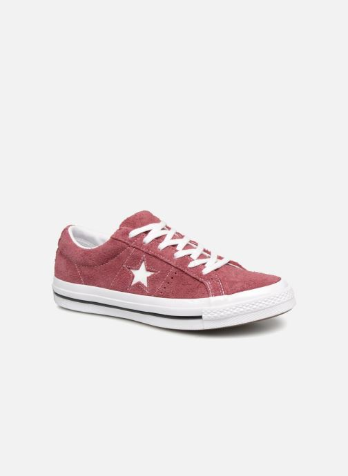 Trainers Converse One Star Ox W Burgundy detailed view/ Pair view