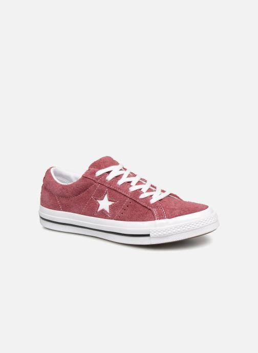 Sneaker Converse One Star Ox W weinrot detaillierte ansicht/modell