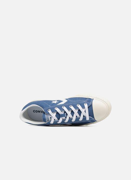 Baskets Converse Star Player Ox Bleu vue gauche