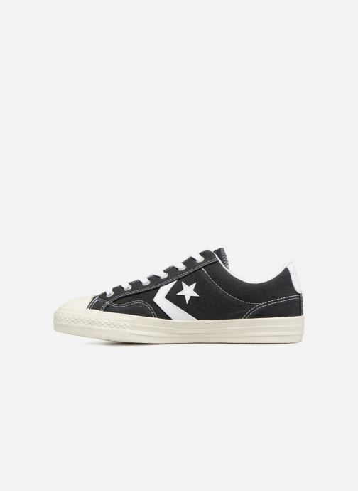 Trainers Converse Star Player Ox Black front view