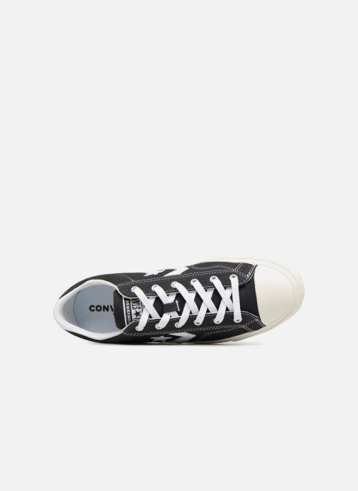 Trainers Converse Star Player Ox Black view from the left