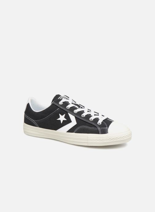 Trainers Converse Star Player Ox Black detailed view/ Pair view