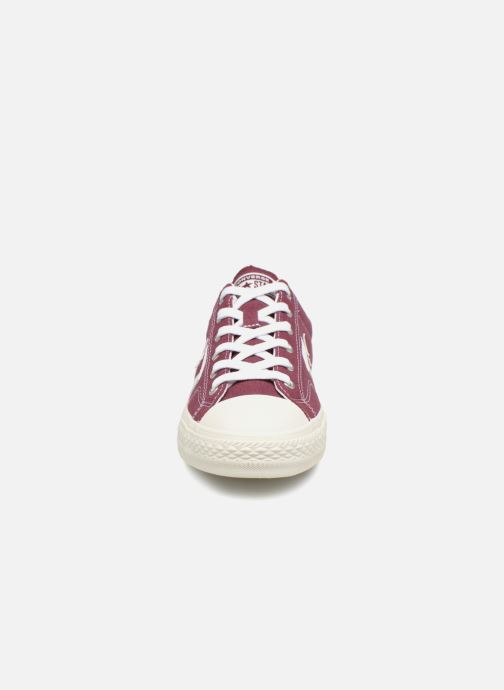 Baskets Converse Star Player Ox Bordeaux vue portées chaussures