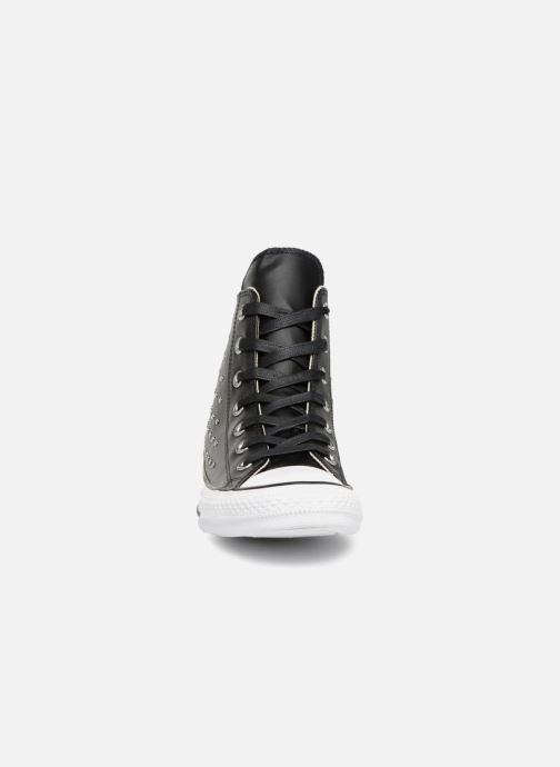 Sneaker Converse Chuck Taylor Hi M schwarz schuhe getragen