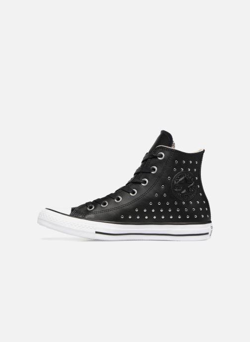 Sneaker Converse Chuck Taylor Hi M schwarz ansicht von vorne