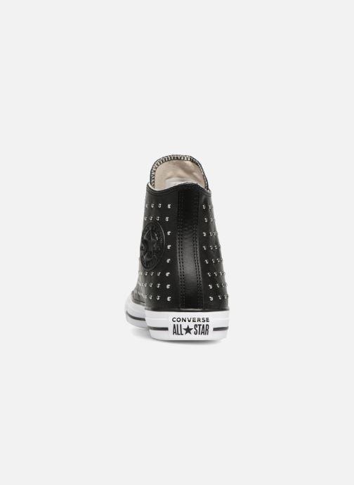 Sneaker Converse Chuck Taylor Hi M schwarz ansicht von rechts