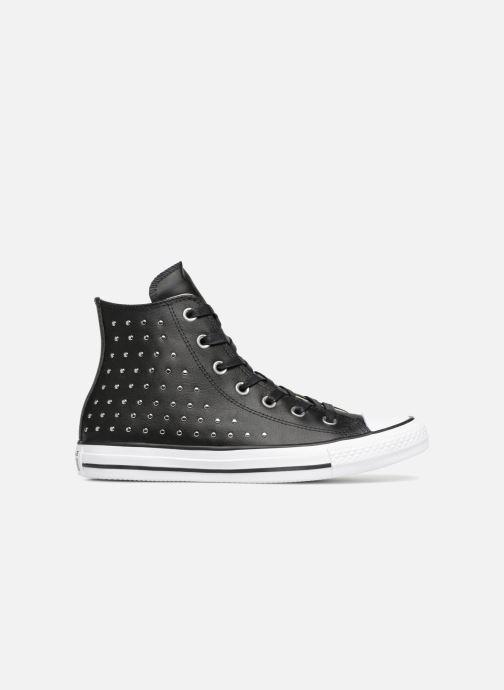 Sneaker Converse Chuck Taylor Hi M schwarz ansicht von hinten