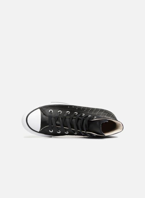 Sneaker Converse Chuck Taylor Hi M schwarz ansicht von links