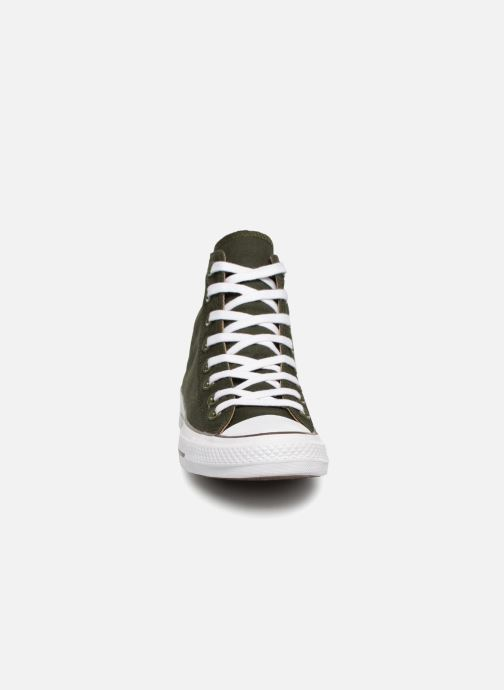 Trainers Converse Chuck Taylor Hi M Green model view