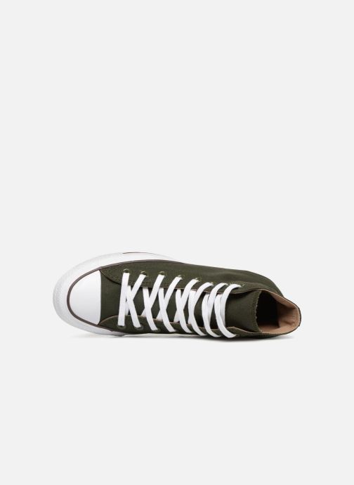 Trainers Converse Chuck Taylor Hi M Green view from the left