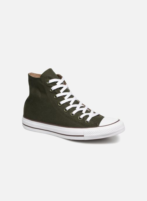 Trainers Converse Chuck Taylor Hi M Green detailed view/ Pair view