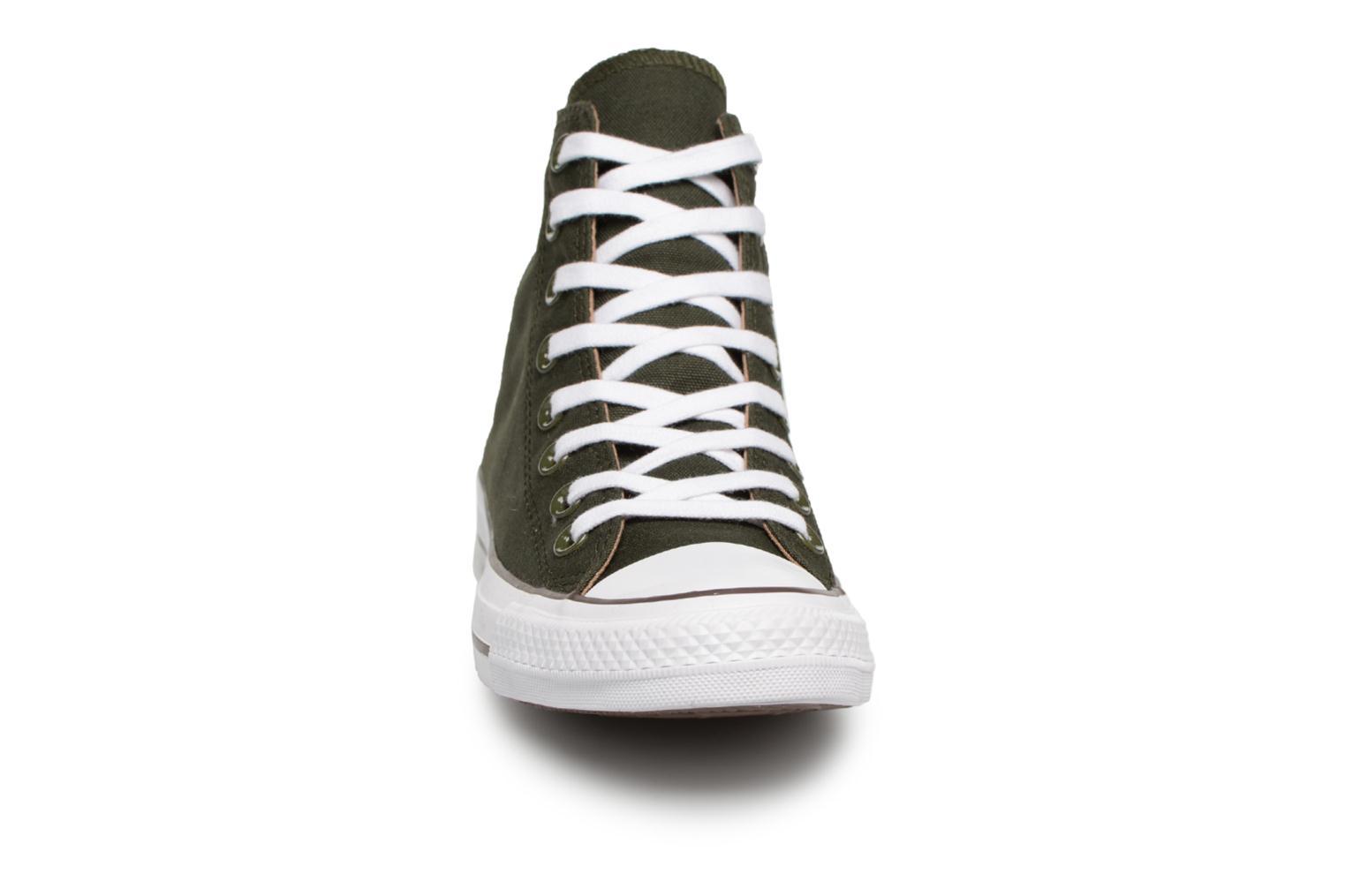 Baskets Converse Chuck Taylor Hi M Vert vue portées chaussures