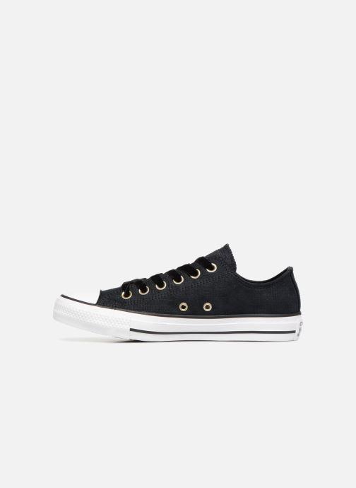 Sneaker Converse Chuck Taylor Ox W schwarz ansicht von vorne