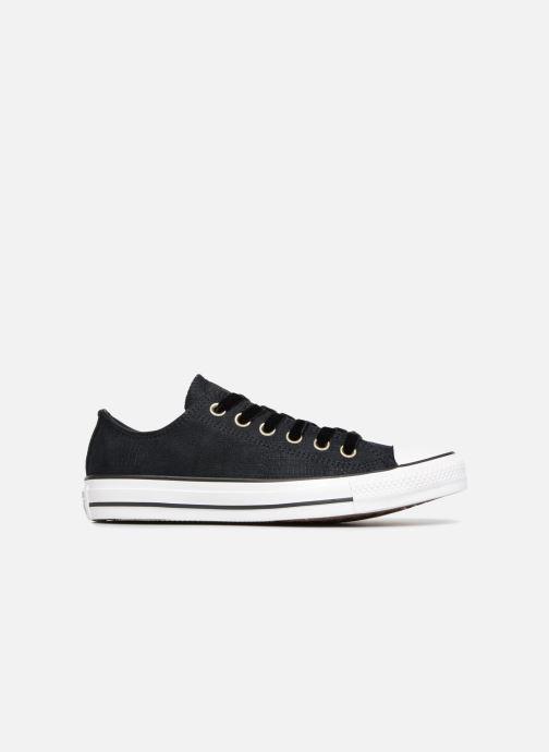 Sneaker Converse Chuck Taylor Ox W schwarz ansicht von hinten