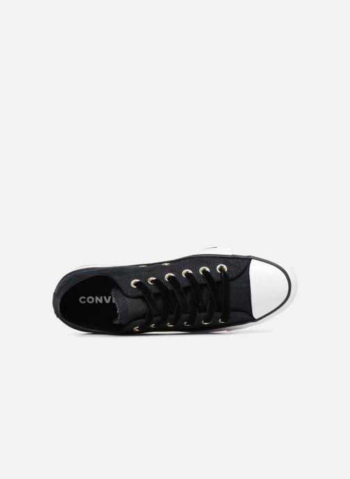 Sneaker Converse Chuck Taylor Ox W schwarz ansicht von links