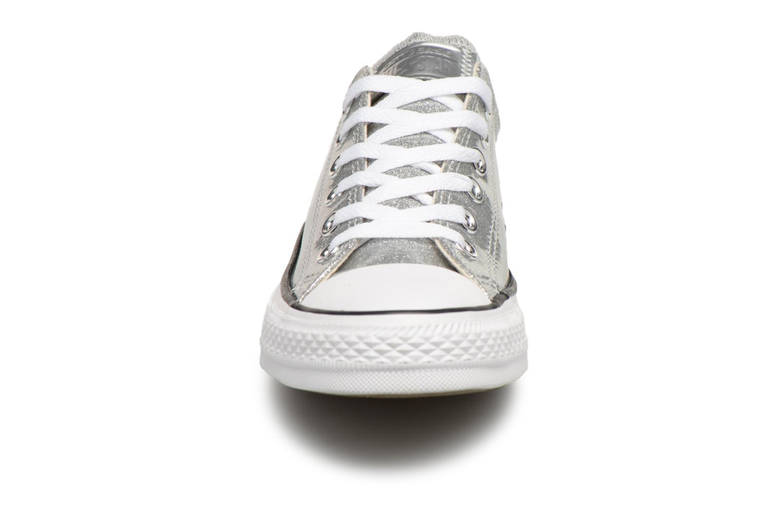 Baskets Converse Chuck Taylor Ox W Argent vue portées chaussures
