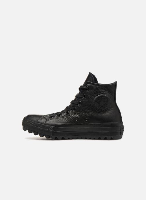 Sneakers Converse Chuck Taylor Lift Hi Zwart voorkant