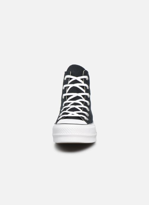 Baskets Converse Chuck Taylor Lift Hi Noir vue portées chaussures