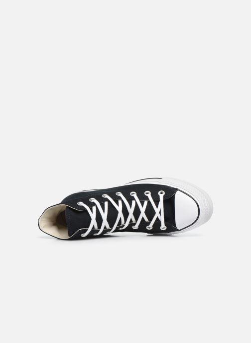 Sneaker Converse Chuck Taylor Lift Hi schwarz ansicht von links