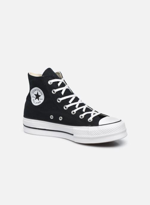 Sneaker Converse Chuck Taylor Lift Hi schwarz detaillierte ansicht/modell