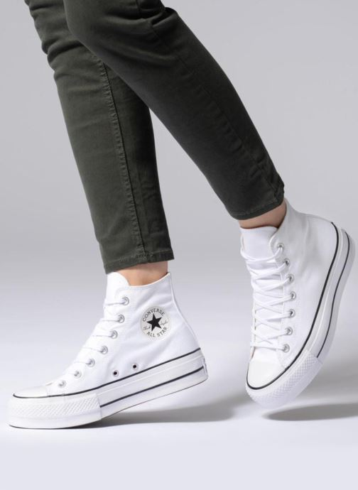 Sneakers Converse Chuck Taylor Lift Hi Wit onder