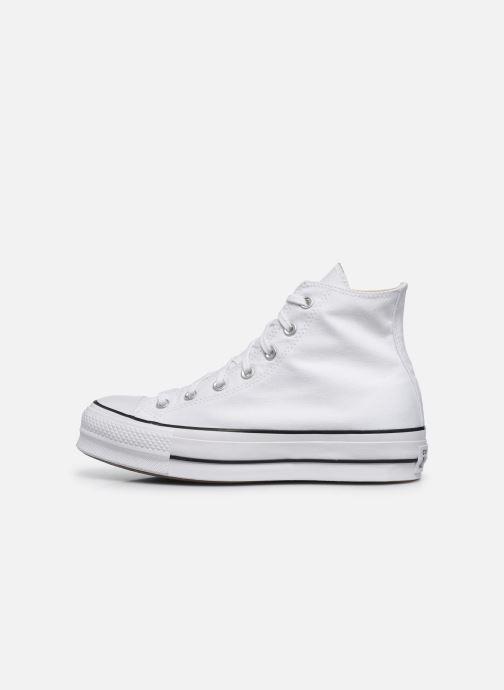 Sneakers Converse Chuck Taylor Lift Hi Wit voorkant