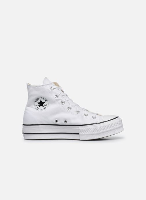 Sneakers Converse Chuck Taylor Lift Hi Wit achterkant