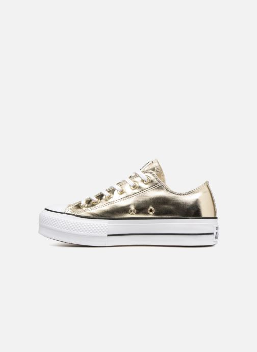 Baskets Converse Chuck Taylor Lift Ox Or et bronze vue face